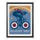 USA Cycling Special Edition Cycling Art Prints From Artist Michael Valenti-USAC Collegiate Track Nationals