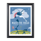 USA Cycling Special Edition Cycling Art Prints From Artist Michael Valenti-USAC Masters Road